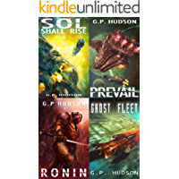 The Pike Chronicles: Books 1-4 (Pike Chronicles Space Opera)