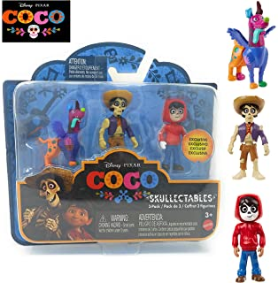 Disney Pixar COCO Movie - Skullectables 3-pack Dante, Hector, Miguel