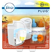 Febreze PLUG Air Freshener Starter Kit Hawaiian Aloha (1 Count, 26 mL)