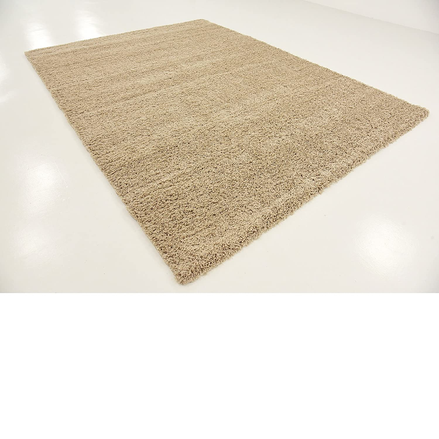 A2z Rug Cozy Shaggy Collection 8x11 Feet Solid Area Rug