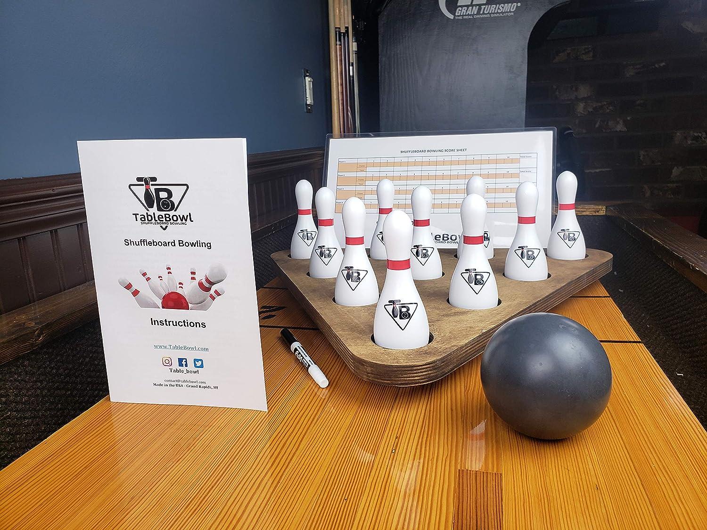 TableBowl Premium Shuffleboard Bowling Set