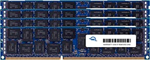 OWC 64.0GB (4 x 16GB) PC3-14900 1866MHz DDR3 ECC-R SDRAM Memory Upgrade Kit, ECC Registered, (OWC1866D3R9M64), for Mac Pro 2013