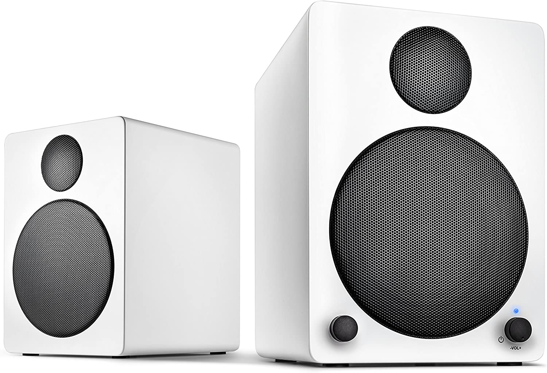 Wavemaster Cube White Regal Lautsprecher System 50 Watt Mit Bluetooth Streaming 2 0 Aktiv Boxen Nutzung Für Tv Tablet Smartphone Weiß 66321 Audio Hifi