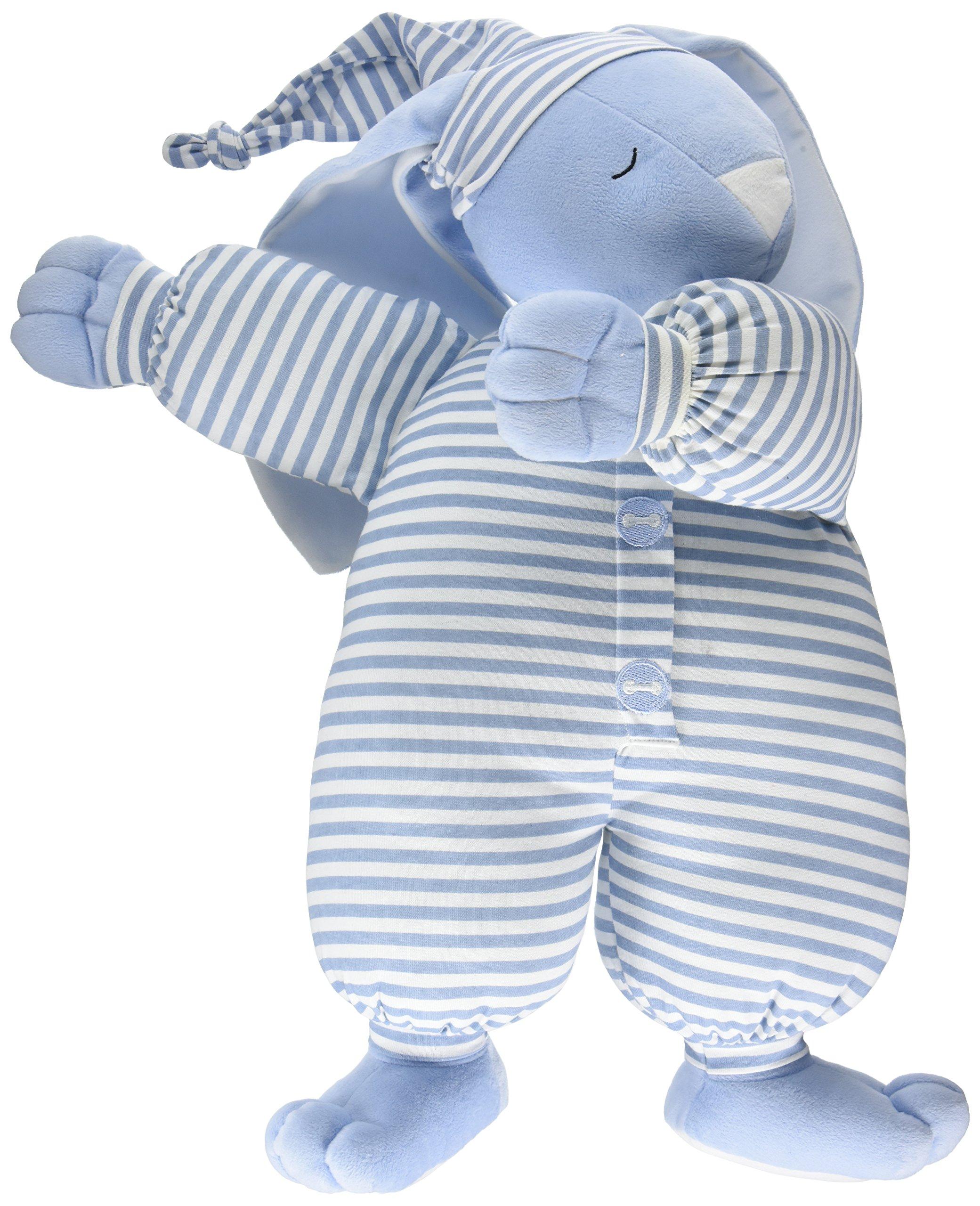 North American Bear Company Sleepyhead Bunny Blue, Blue Stripe, Large