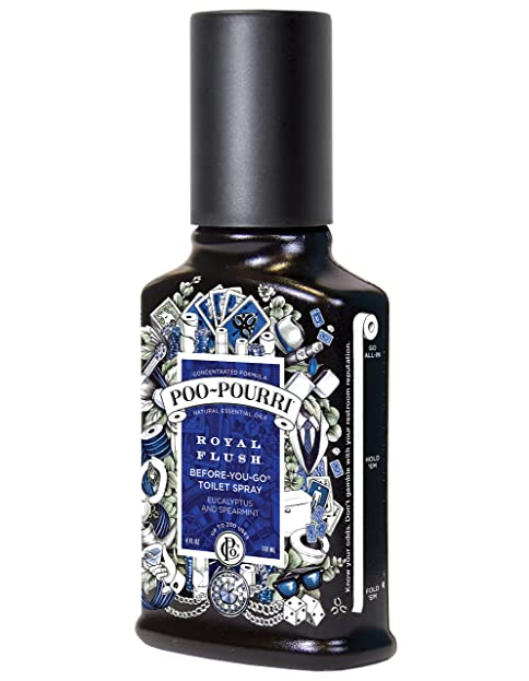 Poo Pourri Before You Go Toilet Spray 4 Ounce Bottle Royal