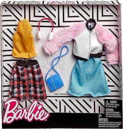 Amazon.es: Mattel Invierno | 2 Moda Set | Barbie FKT39 | Ropa de ...