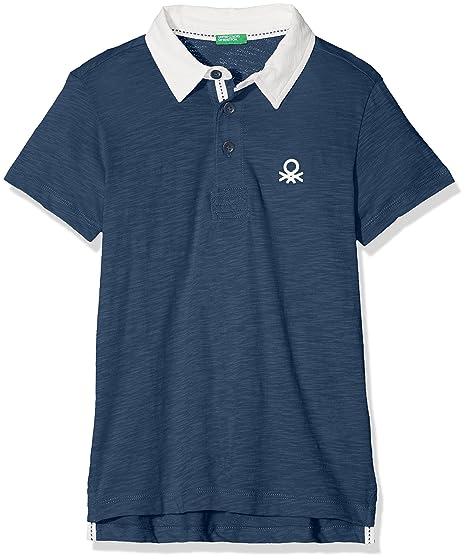 United Colors of Benetton H/s Polo Shirt, Niños, Azul (Ensign Blue ...