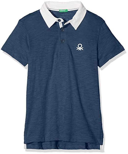 United Colors of Benetton H/s Polo Shirt, Niños, Azul (Ensign Blue ...