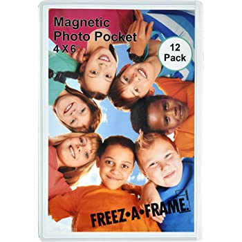Amazon 12 Pack 4 X 6 Magnetic Picture Frames Holds 4 X 6 Inches
