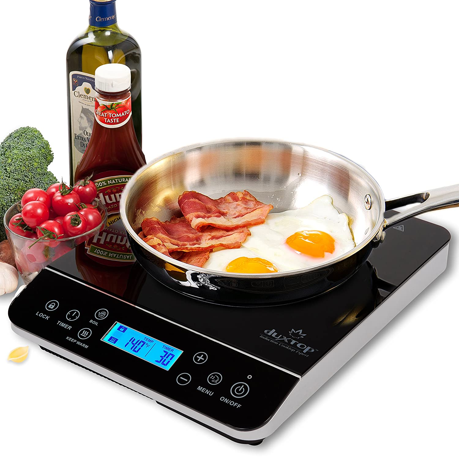 Amazon.com: Secura 8100MC 1800W Portable Induction Cooktop ...