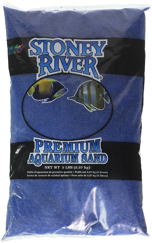 Stoney River Azul Acuático Arena acuarios de Agua Dulce y Salada, 5-Pound Bolsa: Amazon.es: Productos para mascotas