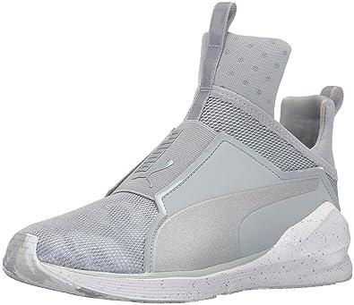 14110813133 PUMA Women s Fierce camo Cross-Trainer Shoe Quarry White