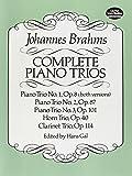 Complete Piano Trios (Dover Chamber Music Scores)