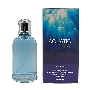 4eaa6ccc AQUATIC TIDES, Our Version of DG LIGHT BLUE, Eau de Toilette Spray for Men