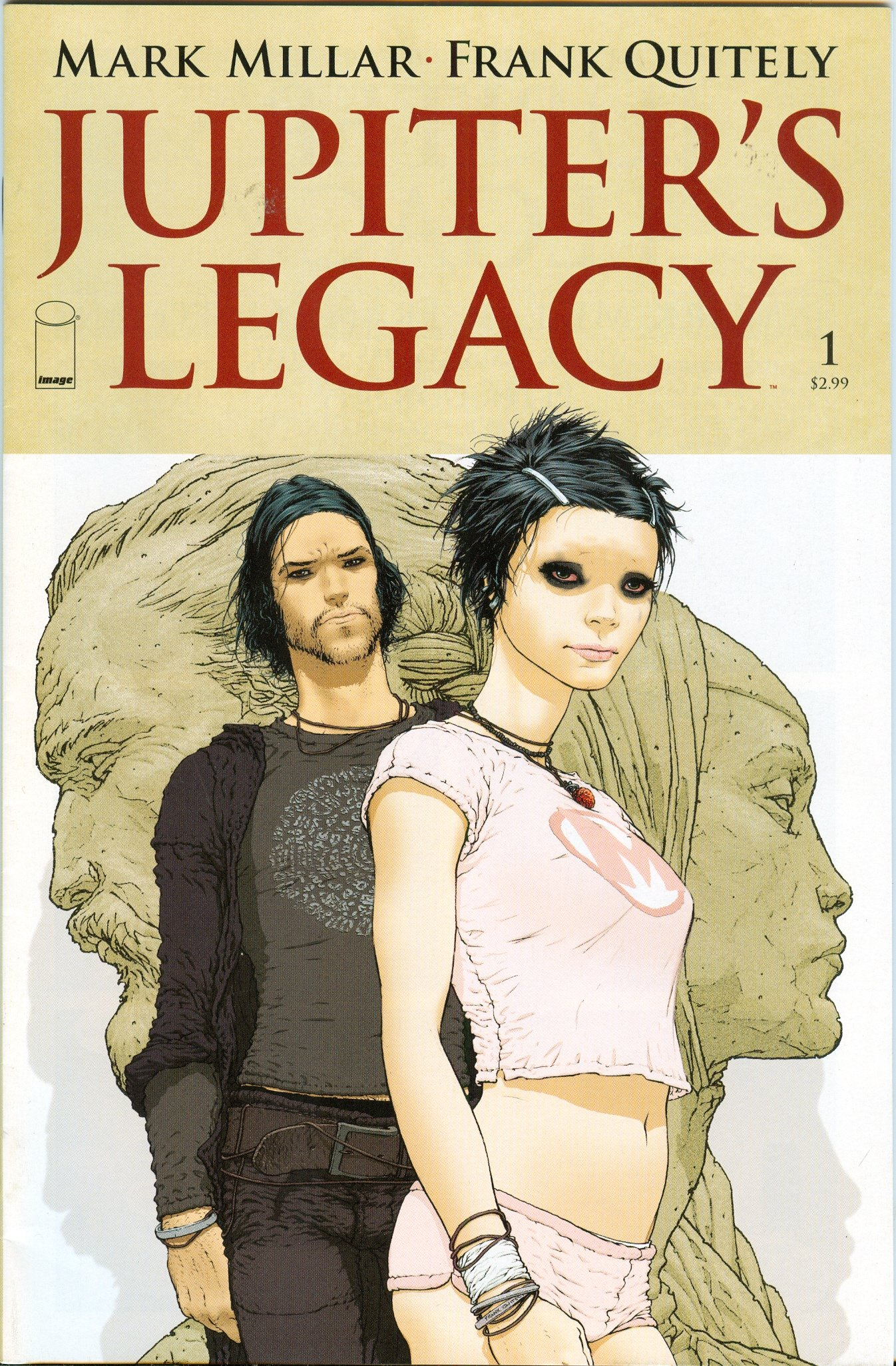 Jupiter S Legacy 1 Quitely Cover A Mark Millar Books