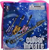 Inflatable Guitars - 42 inch (12/PKG) Assorted colors