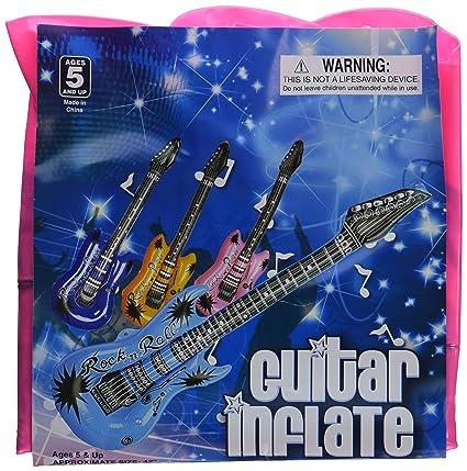 Amazon.com: Inflables guitarras – 42 inch (12/Pkg), varios ...