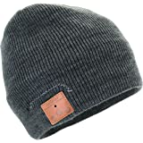 Tenergy Bluetooth Beanie w/ Basic Knit - CHARCOAL color