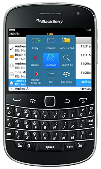 Blackberry bold call log not updating