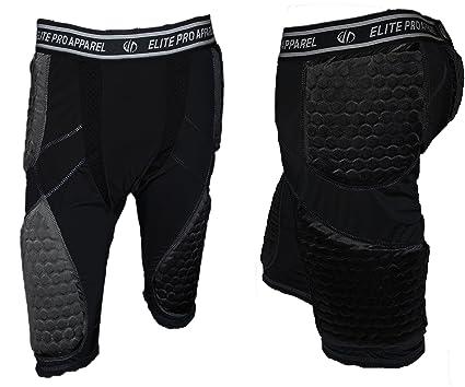 b9d80cc28d8 Elite Pro Apparel Padded Compression Shorts - Basketball, Soccer, Football