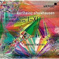 Stockhausen : Pièces pour piano I-XI. Liebner.