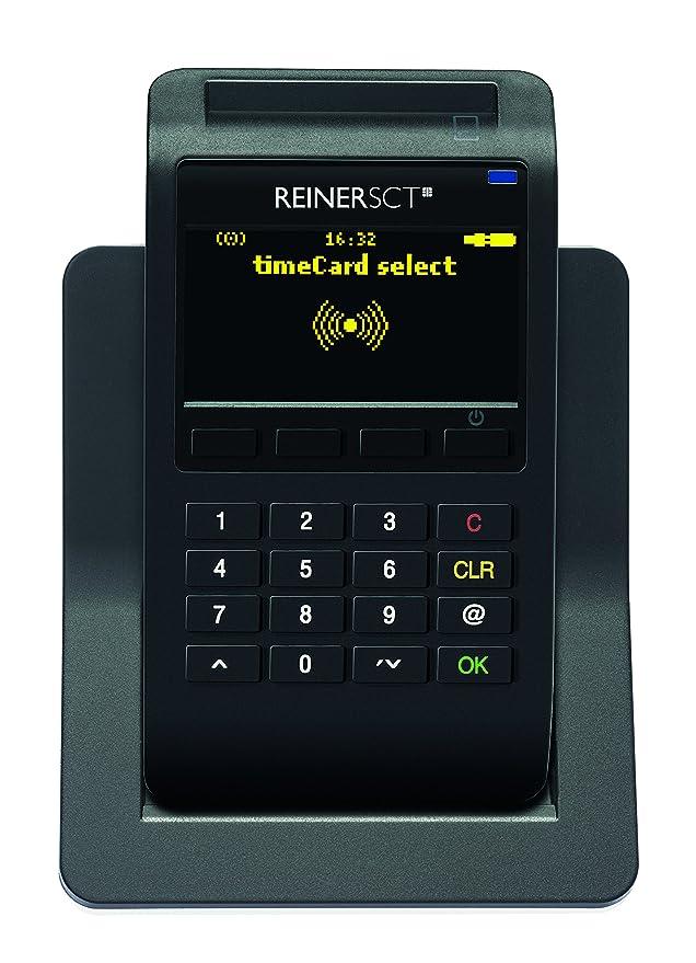 Reiner SCT timeCard Starterpaket Reloj de fichar - Relojes de fichar (Chip Token, LCD): Amazon.es: Informática
