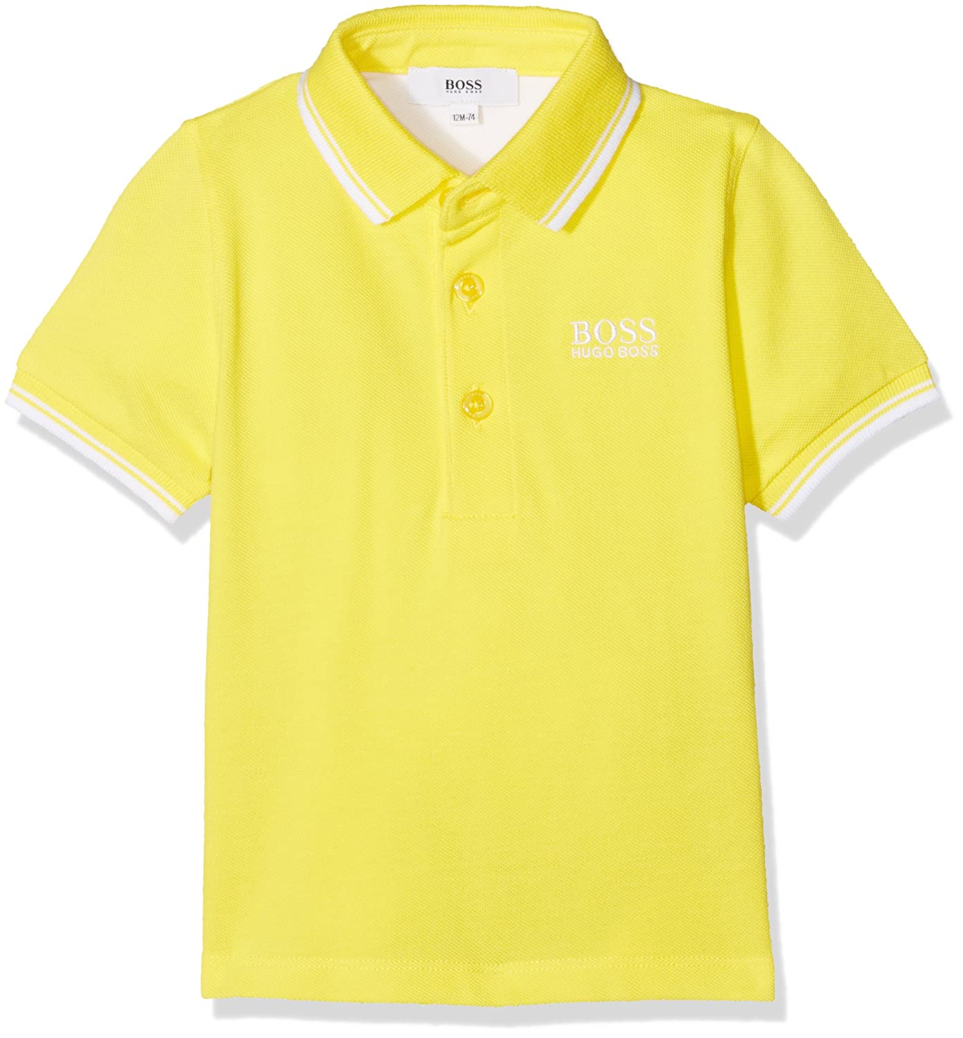 BOSS Baby Boys' Polo Shirt Yellow (Pollen 535) 3 Years (Size: 03A) J05623