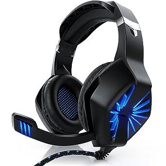 CSL - Auriculares para PC | con micrófono / auriculares | Auriculares USB para jugadores |