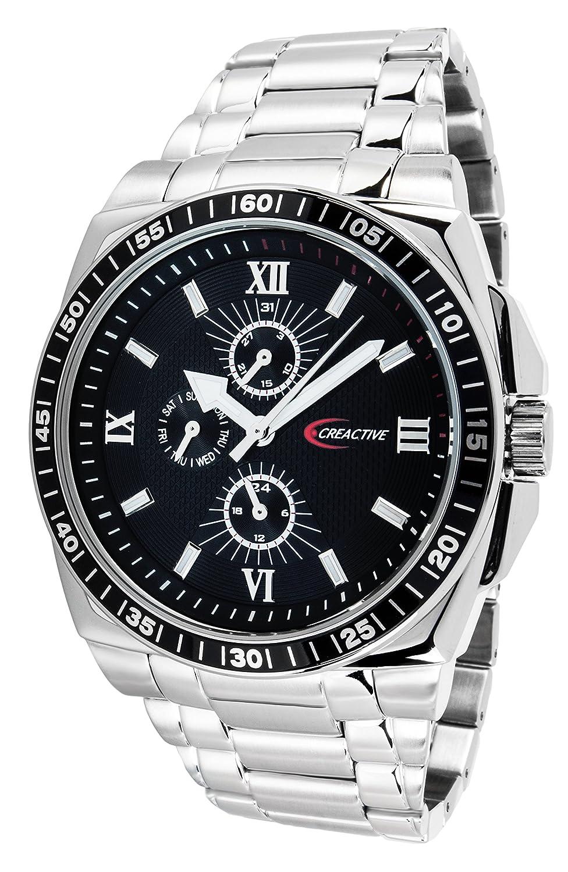 Creactive Herren-Armbanduhr Quarz Analog Edelstahl - CA120110