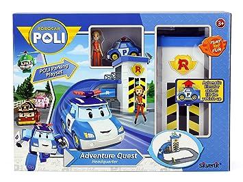 Robocar Parking S83316Amazon esJuguetes Y Juegos Playset Poli iPXZwOkTu