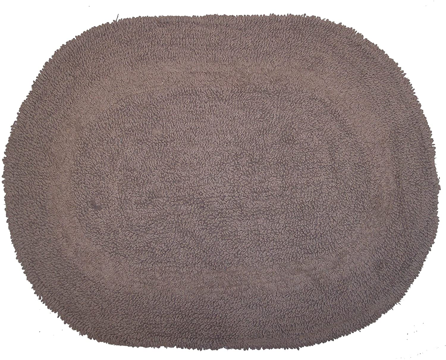 Oval bathroom rug - Amazon Com Revere Mills 4 Pack Cotton 17 By 24 Inch Oval Reversible Bath Rugs Baby Pink Home Kitchen
