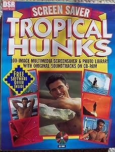 Tropical Hunks Screen Saver