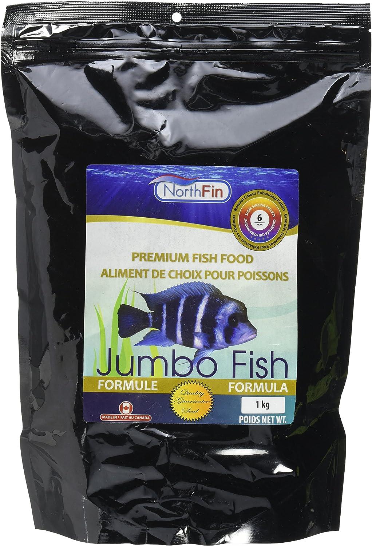 Northfin Food Jumbo Formula 6Mm Pellet 1Kg Package