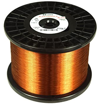 Amazon elektrisola magnet wire 36 awg gauge enameled copper elektrisola magnet wire 36 awg gauge enameled copper wire 10 lbs greentooth Images