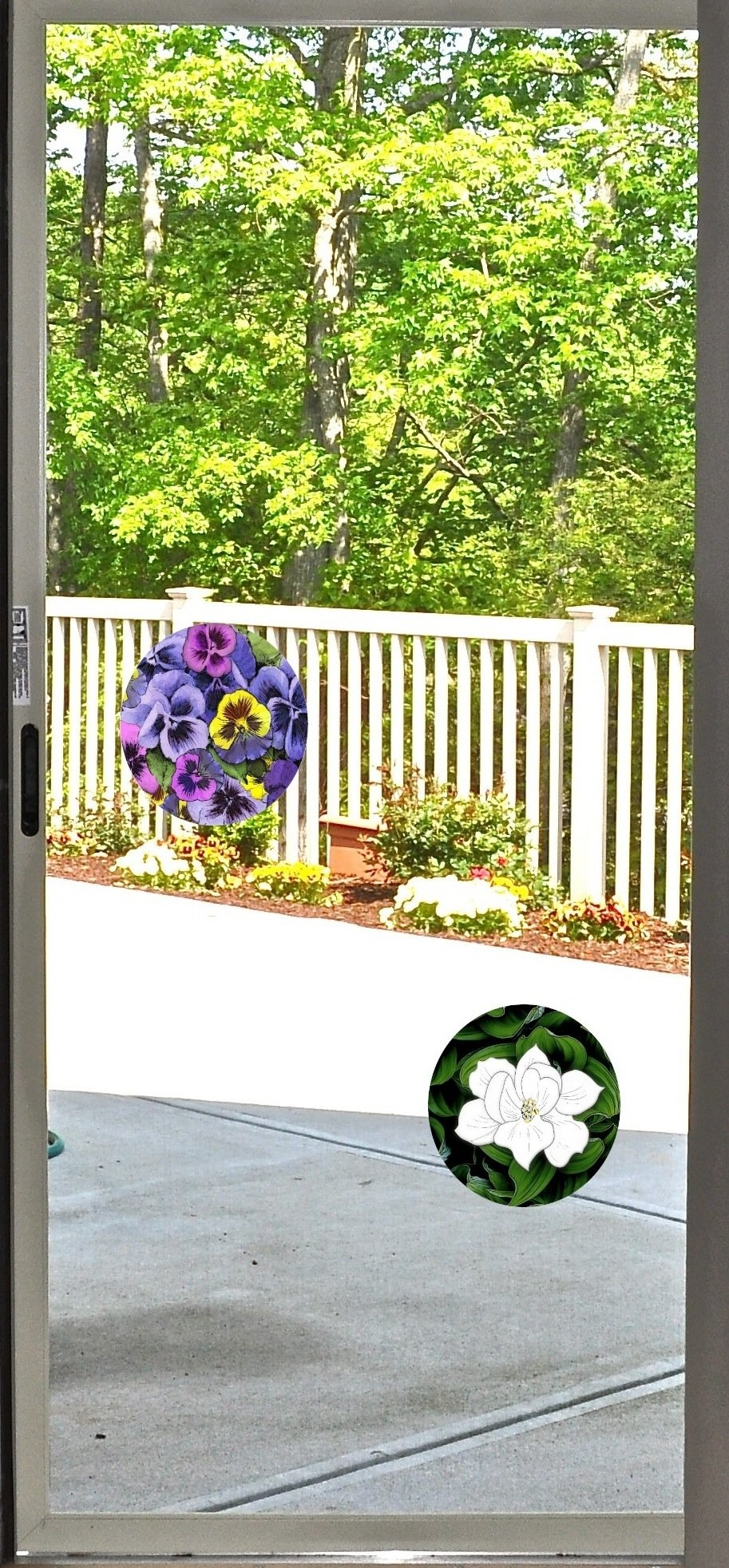Screen Door Magnets – Twist, Click and Lock - Keep People and Pets from Walking into a screen door