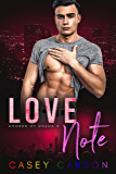 Love Note: MM Rockstar Romance (Chords of Chaos Book 3)