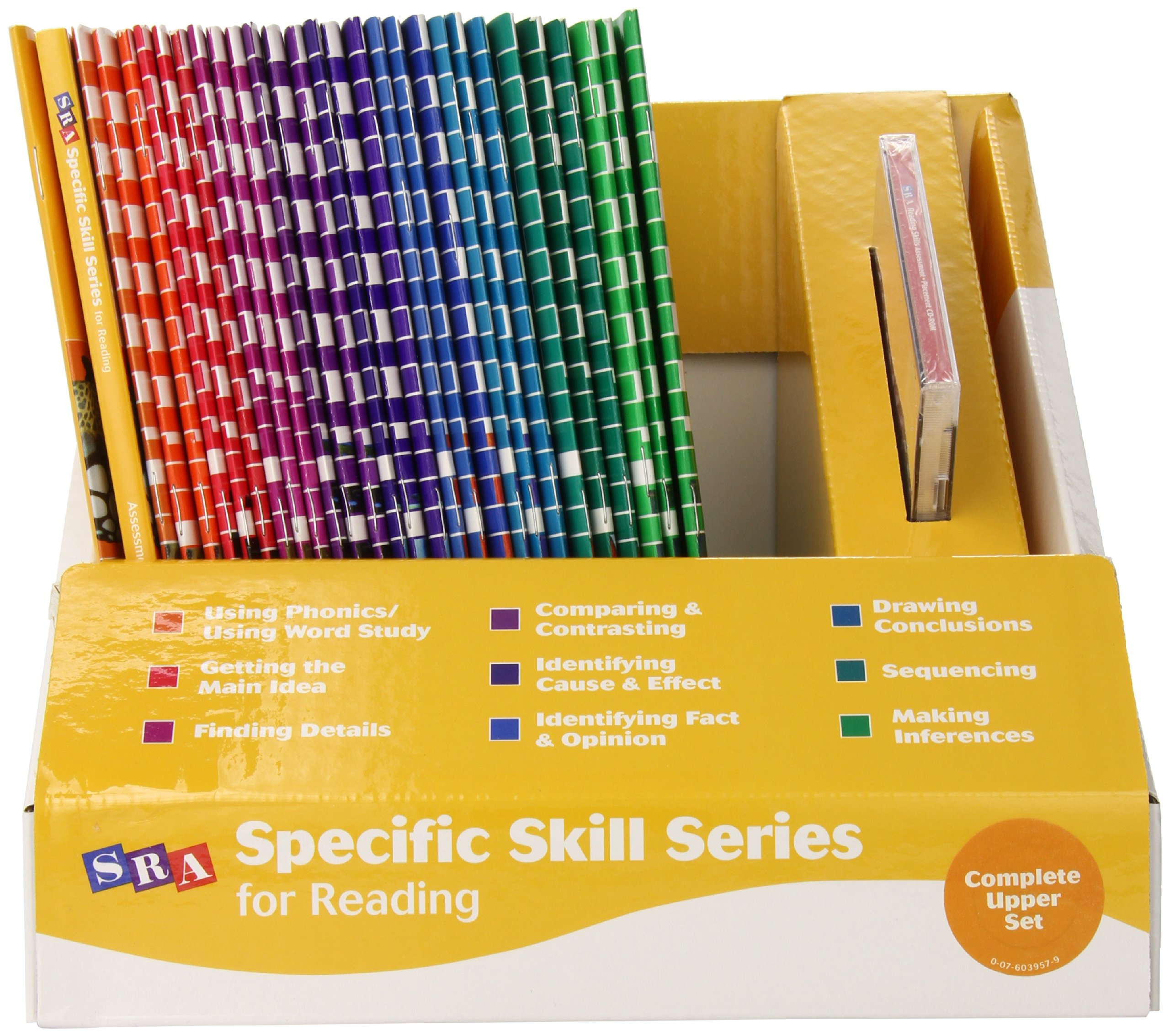 sra specific skills series levels f h complete upper elementary