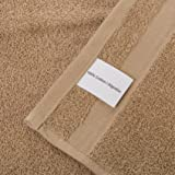 Qute Home Towels 100% Turkish Cotton Brown