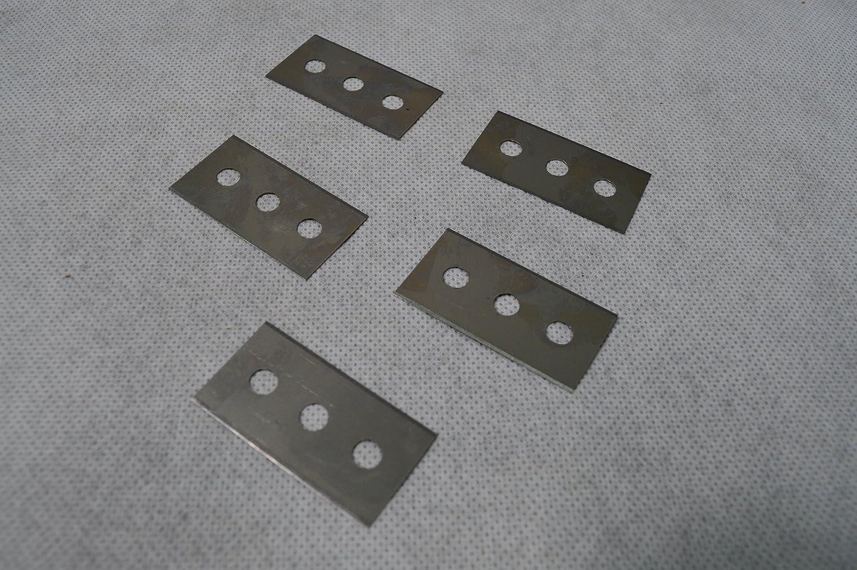 5 cuchillas de repuesto 7288 para rasqueta para cristal ...