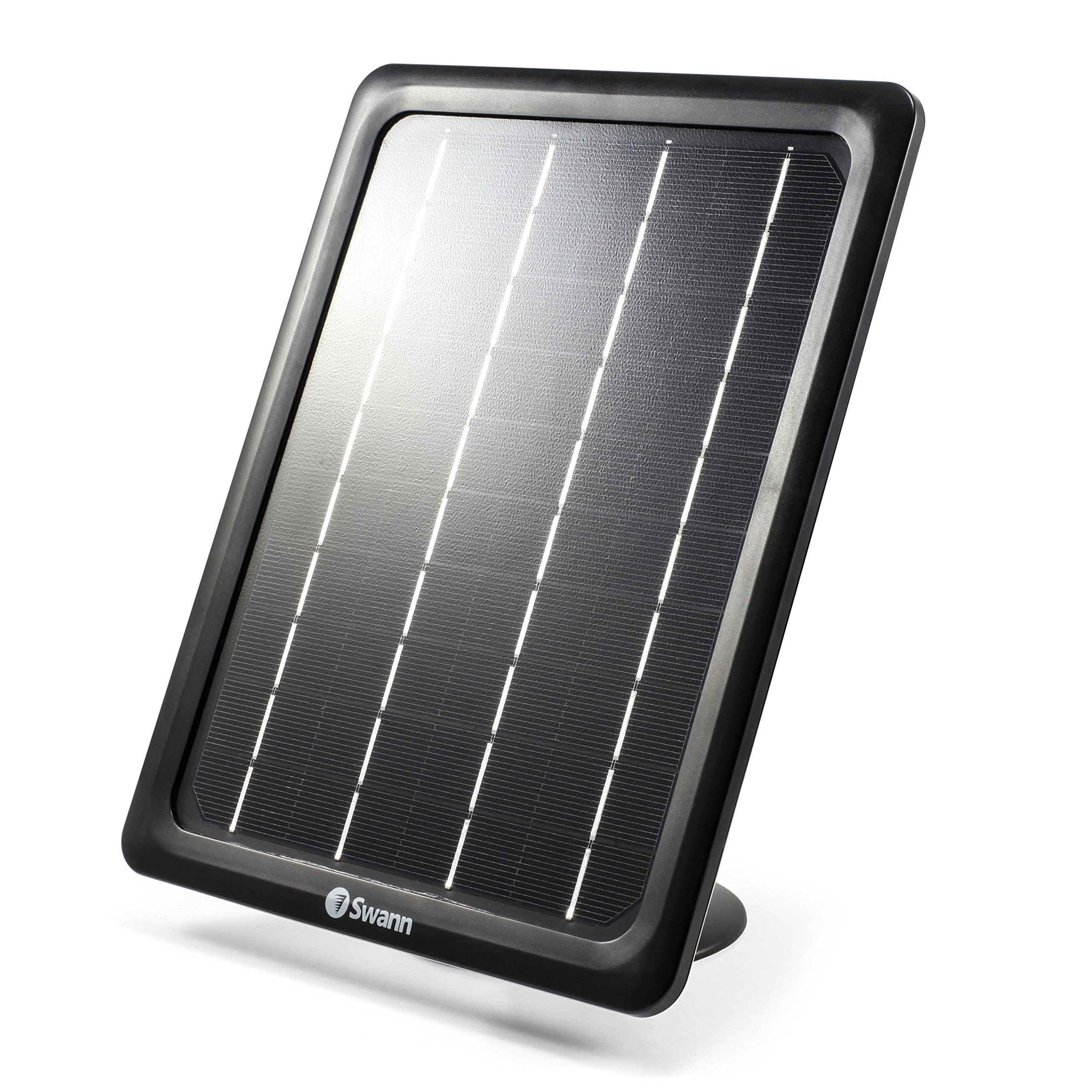 Swann SWWHD-INTSOL-GL ADD ON Solar Panel for SWWHD-Intcam, Black by Swann