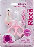Kit Manicure Baby Colors, Ricca, Rosa