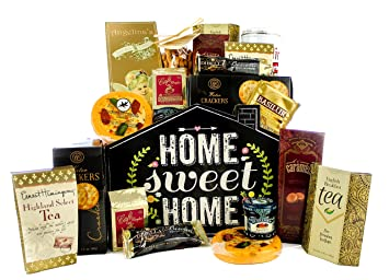 Image Unavailable  sc 1 st  Amazon.com & Gifts Unlimted New Home Housewarming Gift Basket Home Sweet Home ...