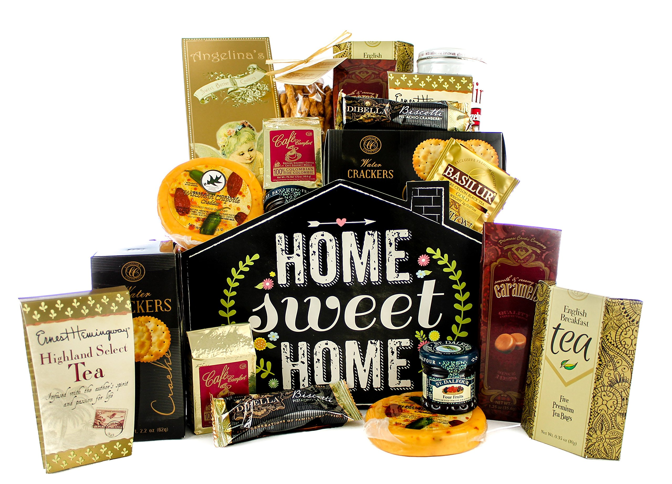 Gifts Unlimted New Home Housewarming Gift Basket, Home Sweet Home, Great Realtor Gift by Gifts Unlimited (Image #1)