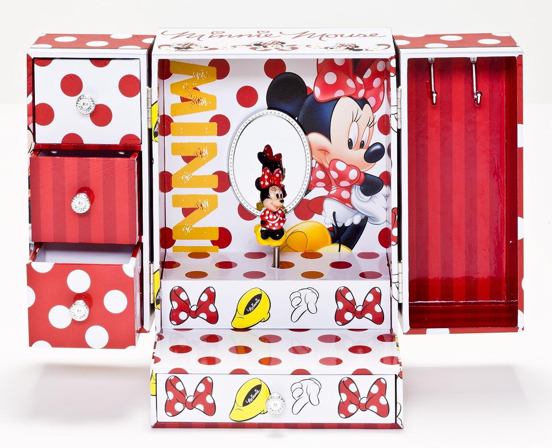 Joy Toy - 91018 - Grande boîte à bijoux - Minnie - avec beaucoup de musique