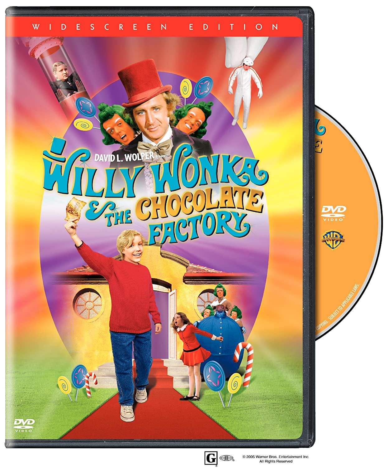 Amazon.com: Willy Wonka & the Chocolate Factory (Widescreen ...