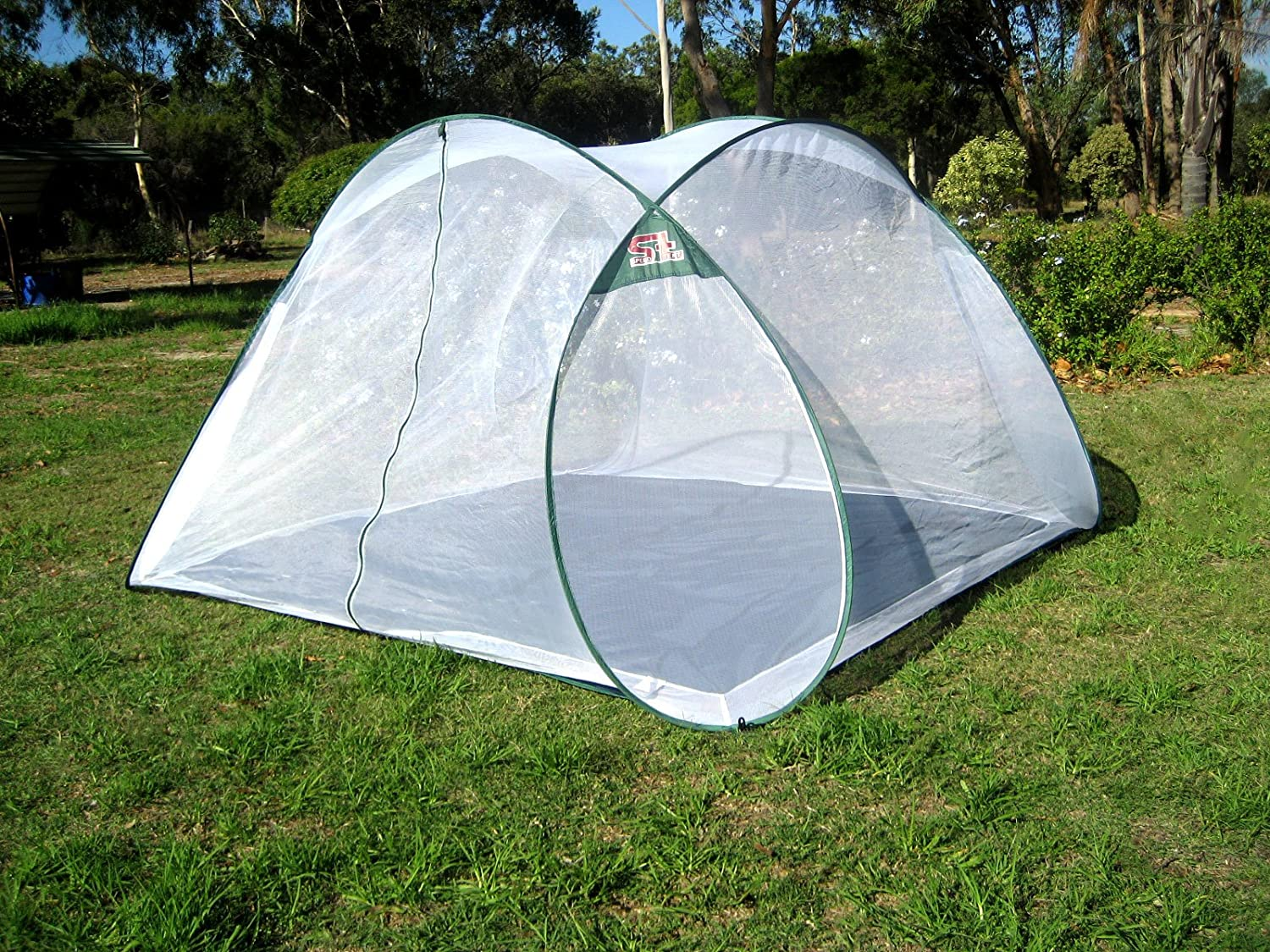 Amazon.com  SpeedTent Portable Foldable Mosquito Net Tent Insect protection nets Anti-Bug Net 4~5 Person net tents  Baby & Amazon.com : SpeedTent Portable Foldable Mosquito Net Tent Insect ...