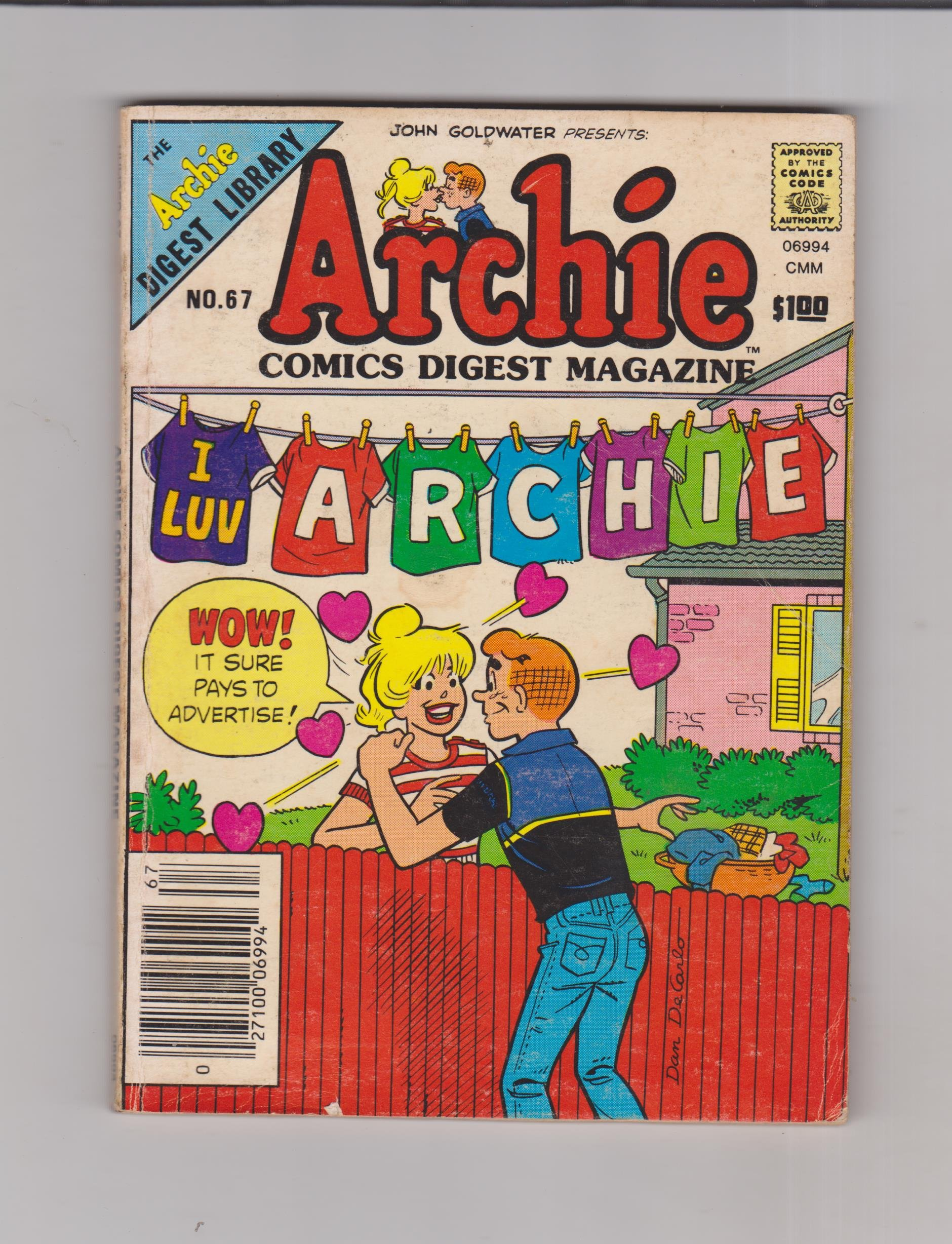 Archie Comics Digest Magazine No. 67