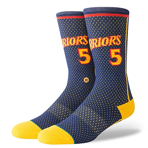 Stance Calcetines NBA Golden State Warriors 04 HWC The Uncommon Thread Azul/Amarillo/Rojo: Amazon.es: Ropa y accesorios