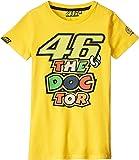 ヤマハ(YAMAHA) ロッシ VR46 Tシャツ 46&ザ・ドクターロゴ イエロー レディース XSサイズ Q5D-YSK-164--00V