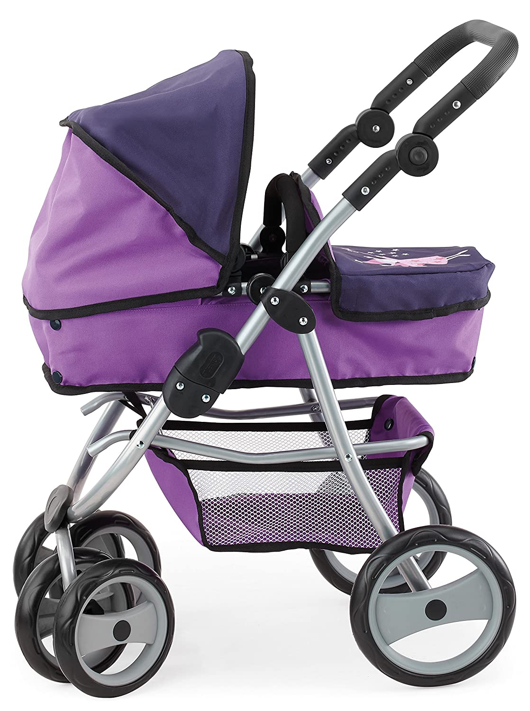 Amazon.es: Bayer Design - Jogger Vario, cochecito de muñeca, color lila (22212): Juguetes y juegos